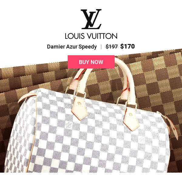 Cheap LV Damier Azur Speedy Replica