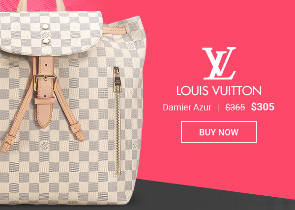 LV Replica Backpack Damier Azur